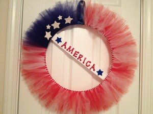 America the Beautiful wreath