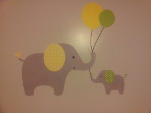 Elephants with Balloons
