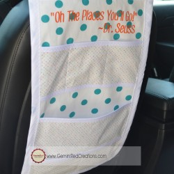 Car Caddy Organizer with Quote