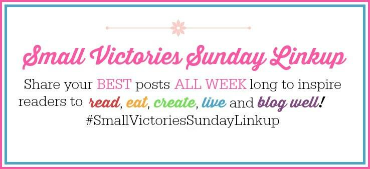 Small Victories Sunday Linkup pink