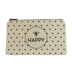 Bee Happy Zip Pouch