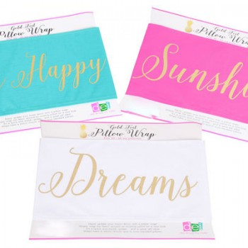 Be Happy Sunshine Dreams Pillow Wraps