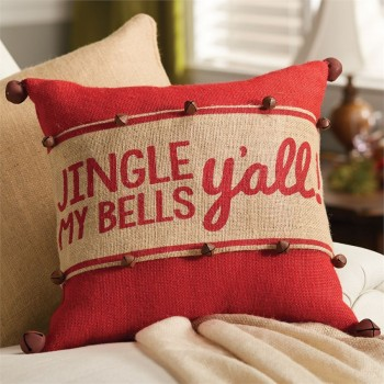 Jingle My Bells Pillow Wrap