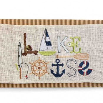 Lake House Pillow Wrap