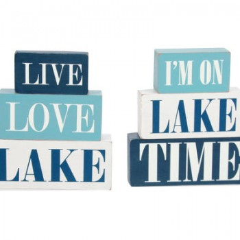 Live Love Lake Signs