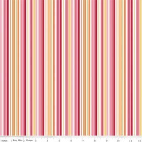 Riley Blake Dandy Stripe Pink