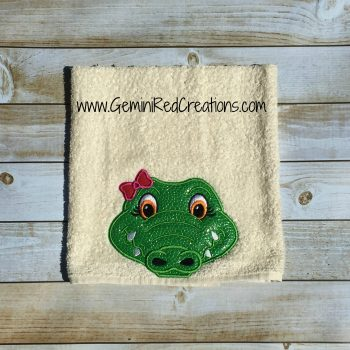 Hooded Towels 27x52 Alligators