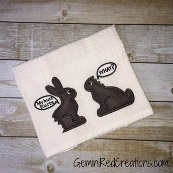 Custom Embroidered Kitchen Towels