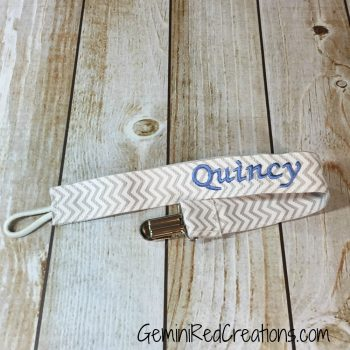 Pacifier Clip {Personalized}