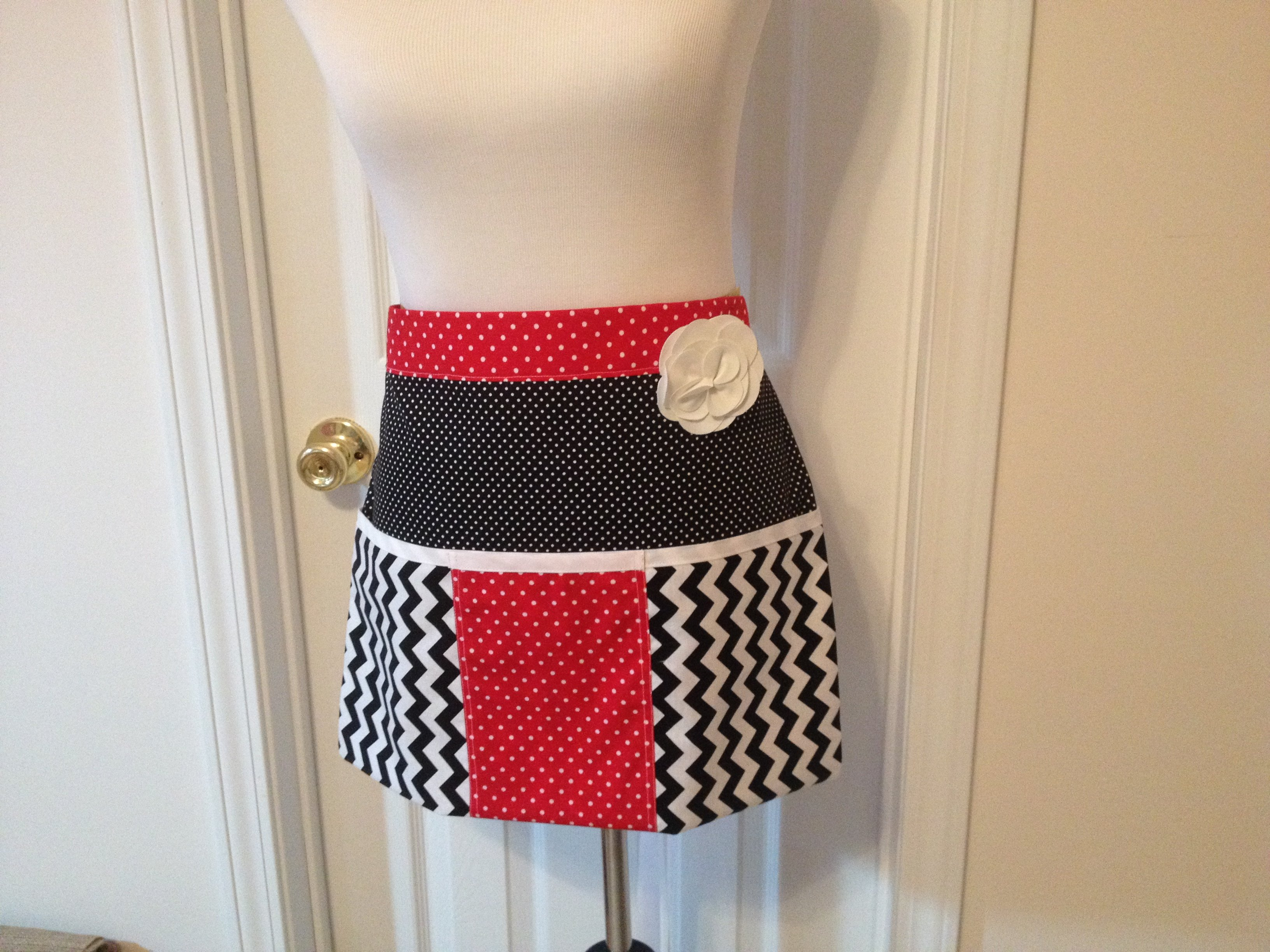 Well made apron!