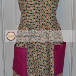Diamond Fabric full apron (8)