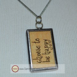 Choose Happy pendant (2)