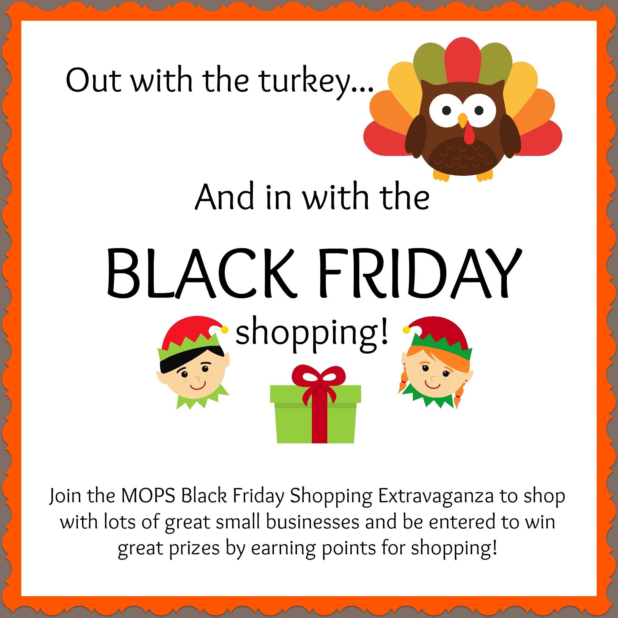 MOPS Black Friday Shopping Extravaganza