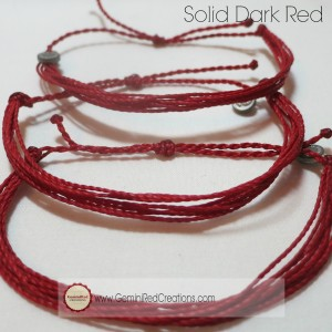 Solid Dark Red (5)