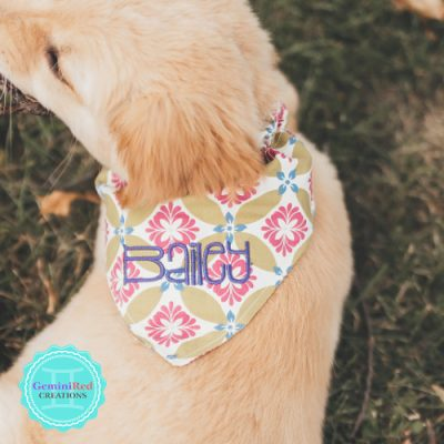 Doggy Bandana {customized}
