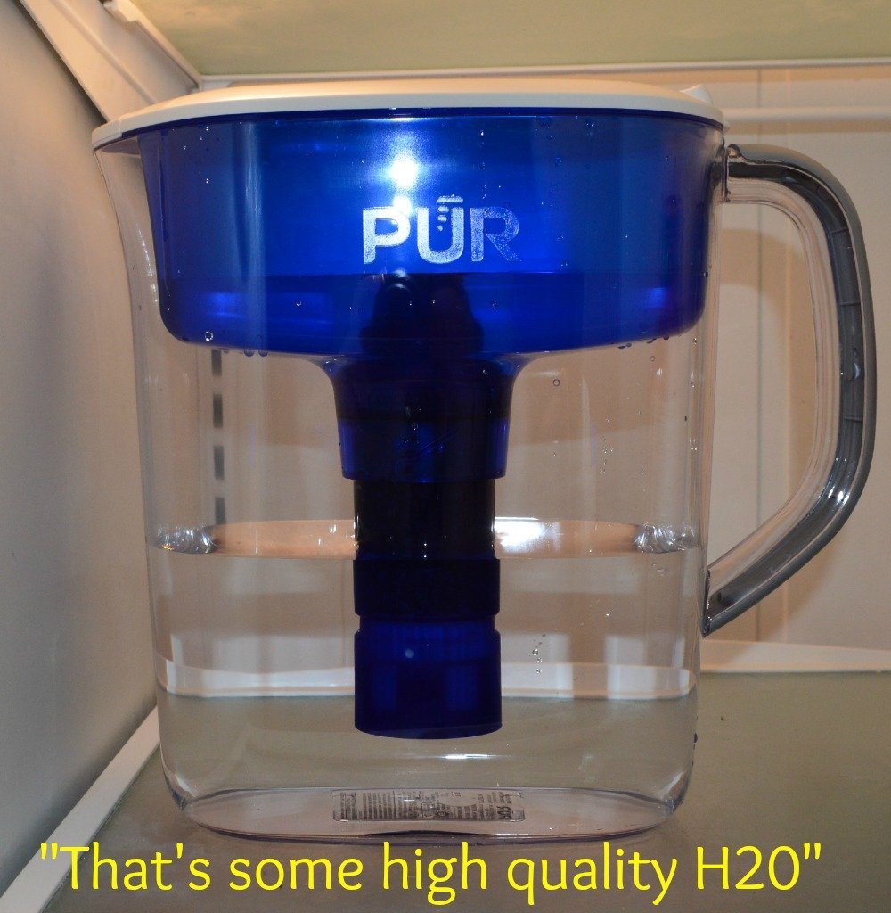 PUR…that's some high quality H20