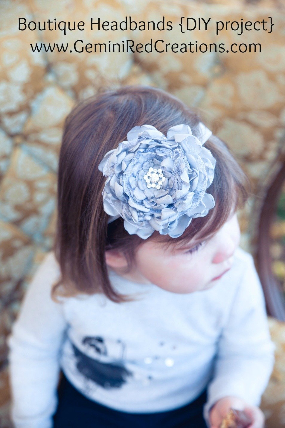 Boutique Headbands {DIY project}