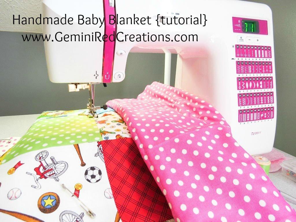 Handmade Baby Blanket tutorial (21)