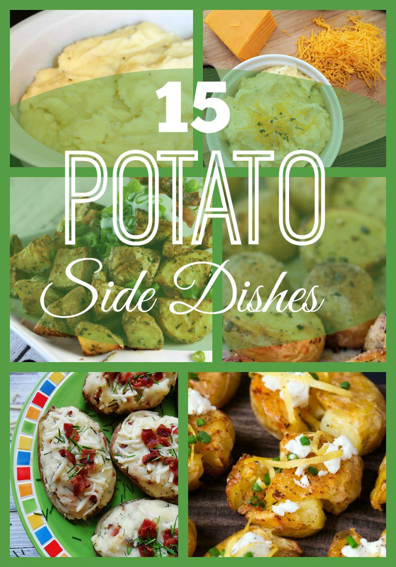 15 Potato Side Dishes {round up}
