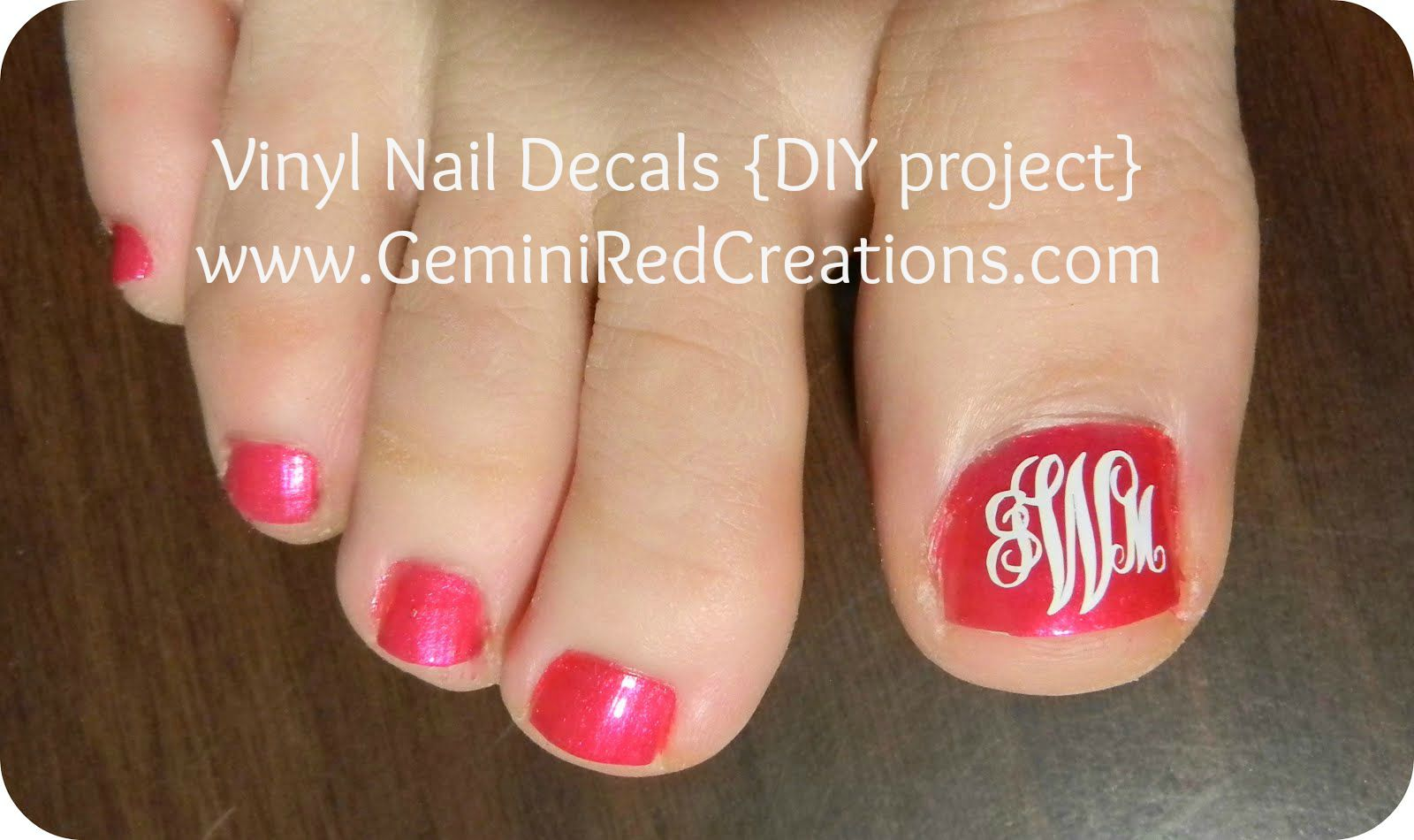 Diy archives geminired creations vinyl nail decals diy project solutioingenieria Images