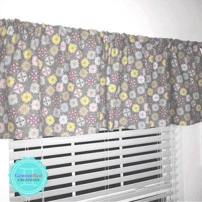 Custom Valance / Curtain