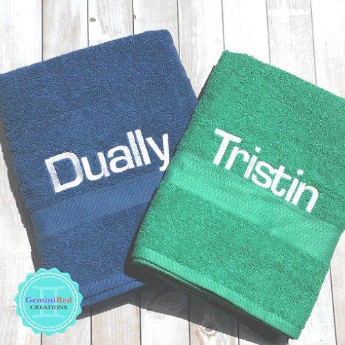 Custom Personalized Bath Towel