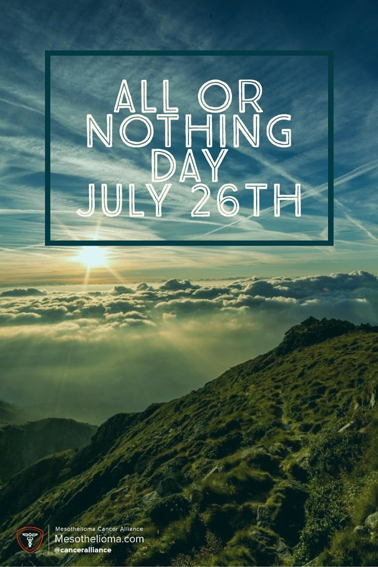 All or Nothing Day…Carpe Diem
