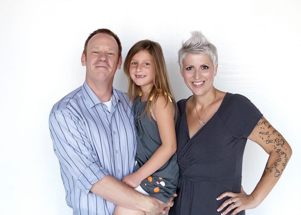 Heather Von St James Family shot