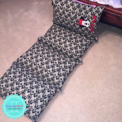 Kids Floor Pillow Bed / Mat Cover