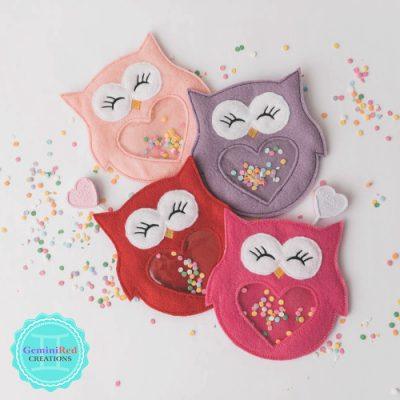 Owl Candy Holder
