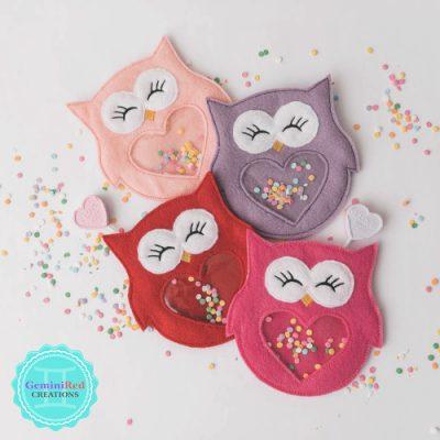 Owl Candy Holder
