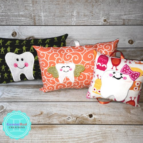 Tooth Fairy Pillows {Custom & Personalized}