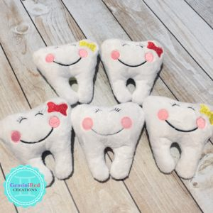 Tooth Fairy Mini Plush Pillow with pocket