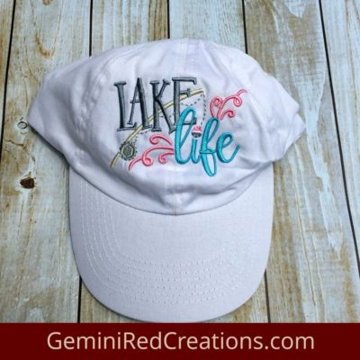 Lake Life Baseball Cap / Baseball Hat