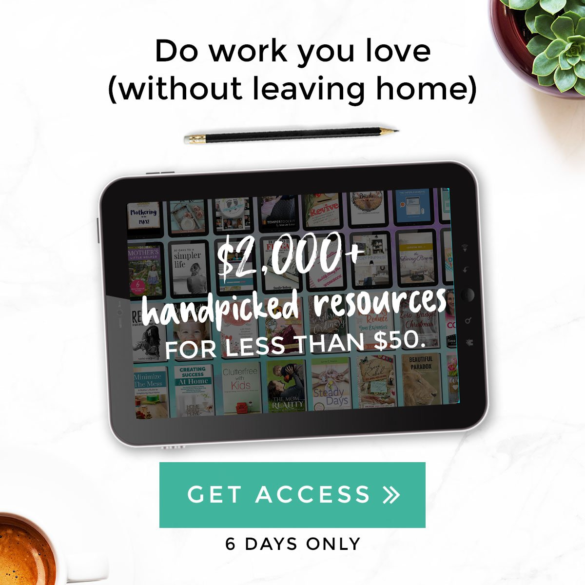 Join the Work from Home Revolution