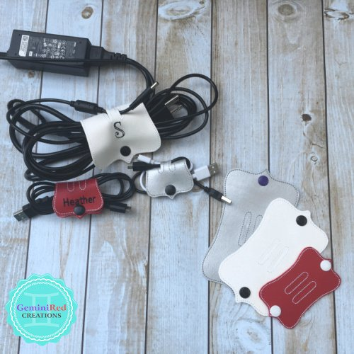 Cord Keepers {Device Cord Wraps}