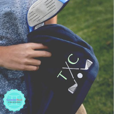 Golf Towels {monogrammed} 16x26