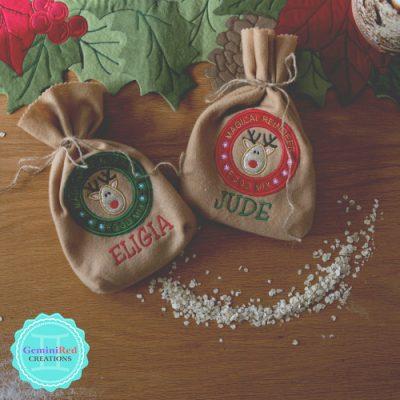 Magical Reindeer Food Bags
