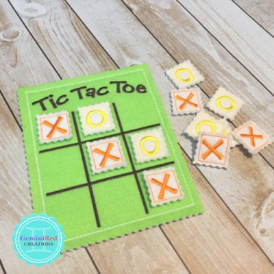 Tic Tac Toe Travel Game