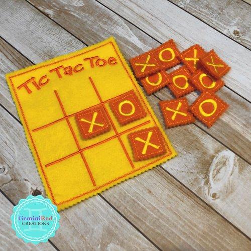 Tic Tac Toe Travel Game