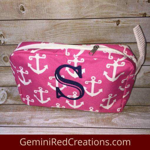 Nautical Travel Zipper Case