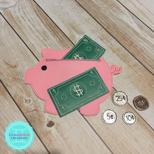 Piggy Bank Learn to Count Set