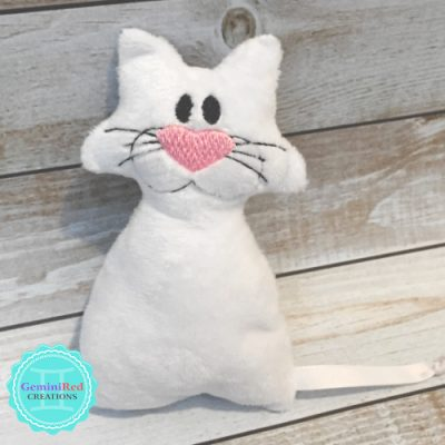 Mini Kitty Cat Fleece Softie