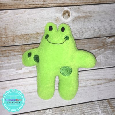 Mini Frog Fleece Softie