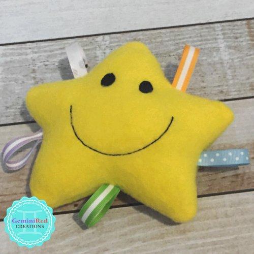 Mini Smiling Star Fleece Softie