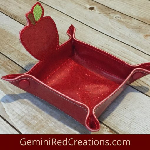 Apple Vinyl Storage Tray