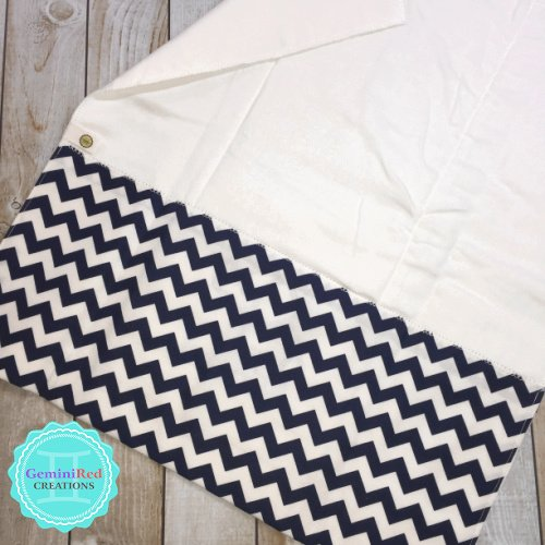 Embroidered Custom Bib or Burp Cloth