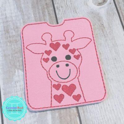 Giraffe Gum | Gift Card Sleeve
