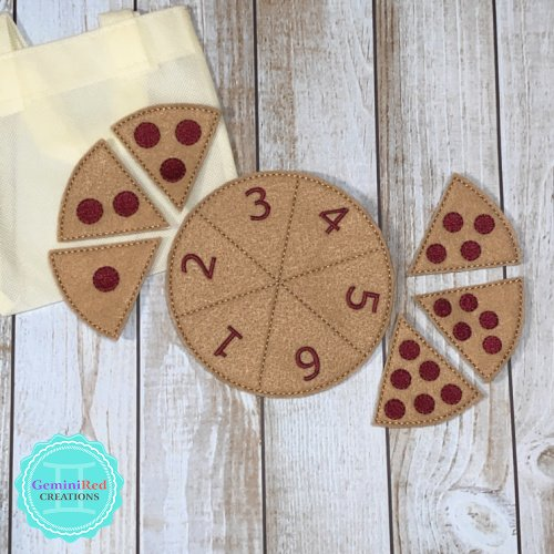 Pepperoni Pizza Learn to Count Set