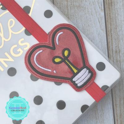 Heart Lightbulb Book Band